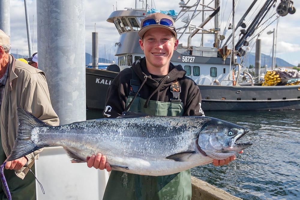 king salmon fishing sitka alaska