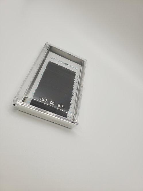 Volume 0.07/CC curl mix trays
