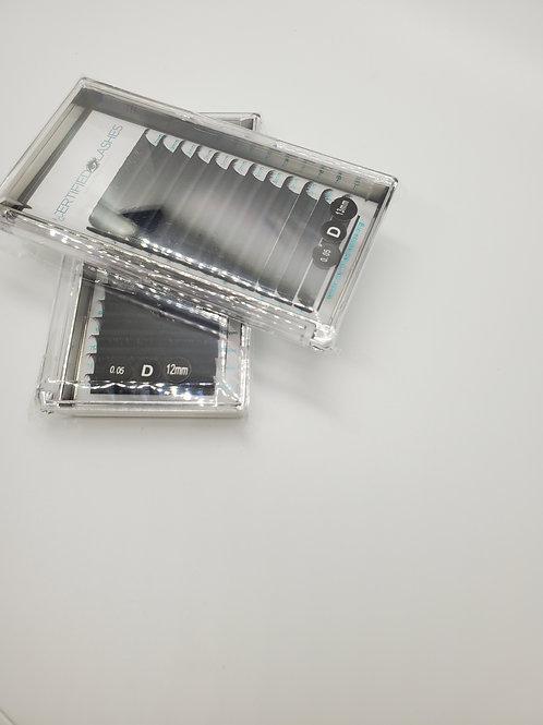 Volume 0.05/D curl single trays