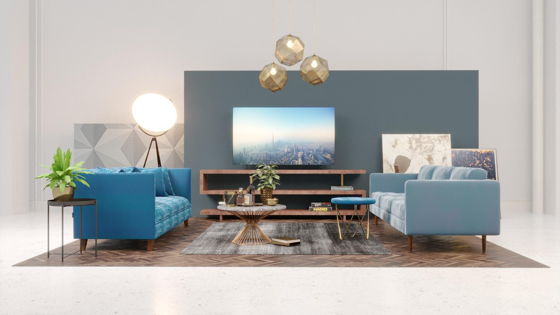 Interior Furniture Mood Scheme
