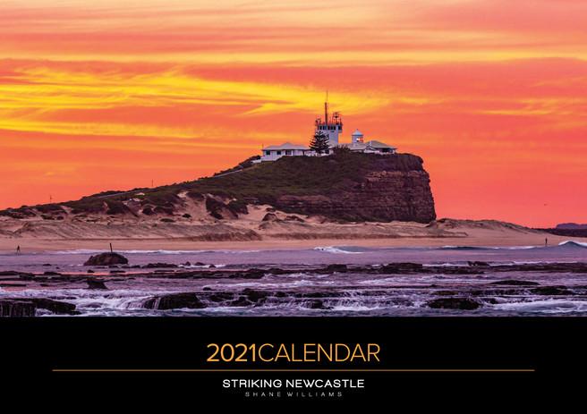 2021 A3 Calendar Striking Newcastle Cover