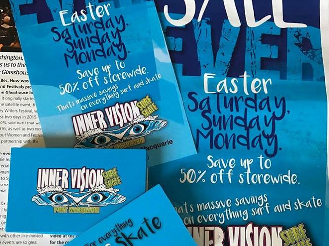 Innervision Surf N Skate Promotional Material