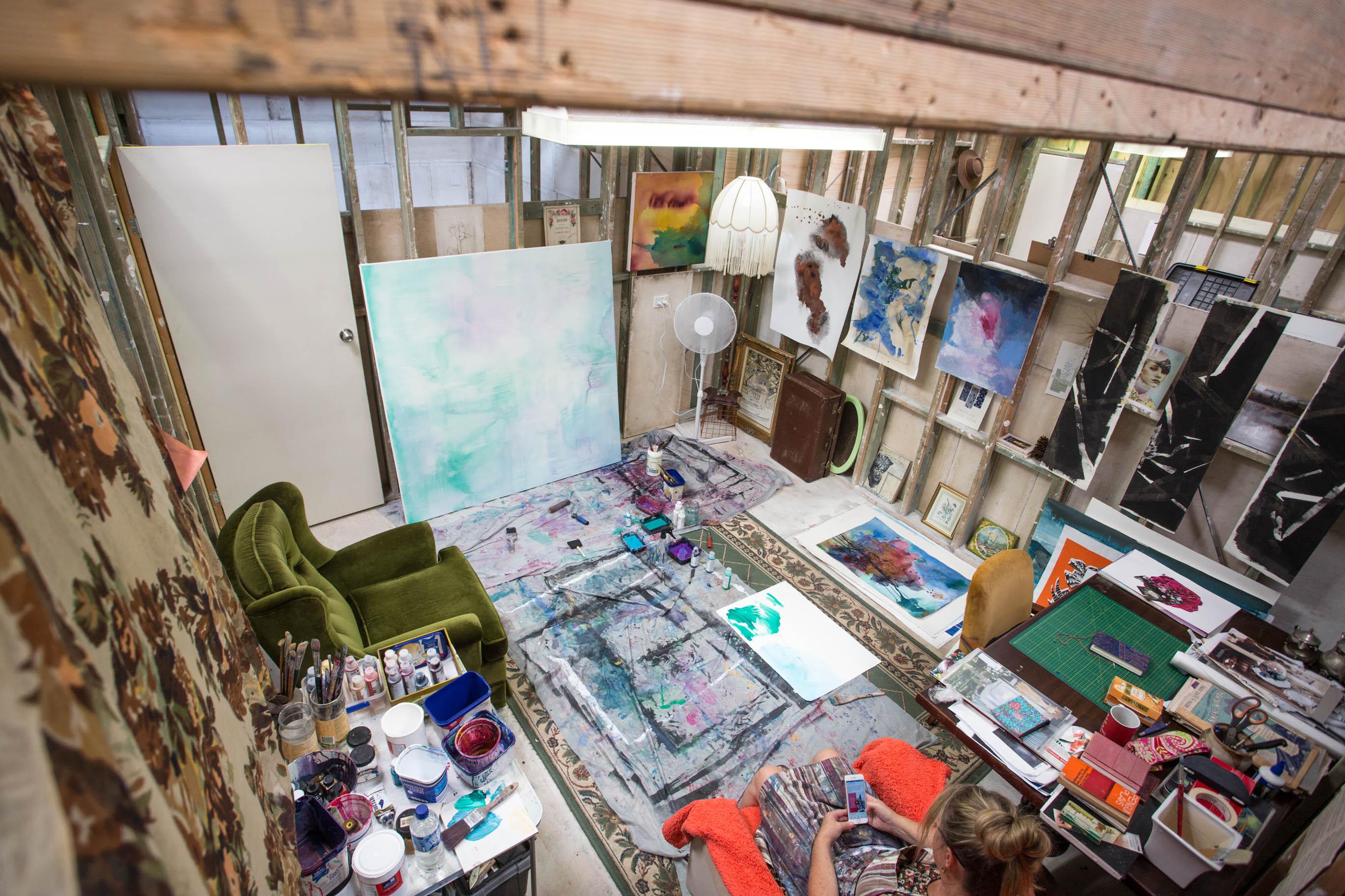 Kathryn Taunton studio