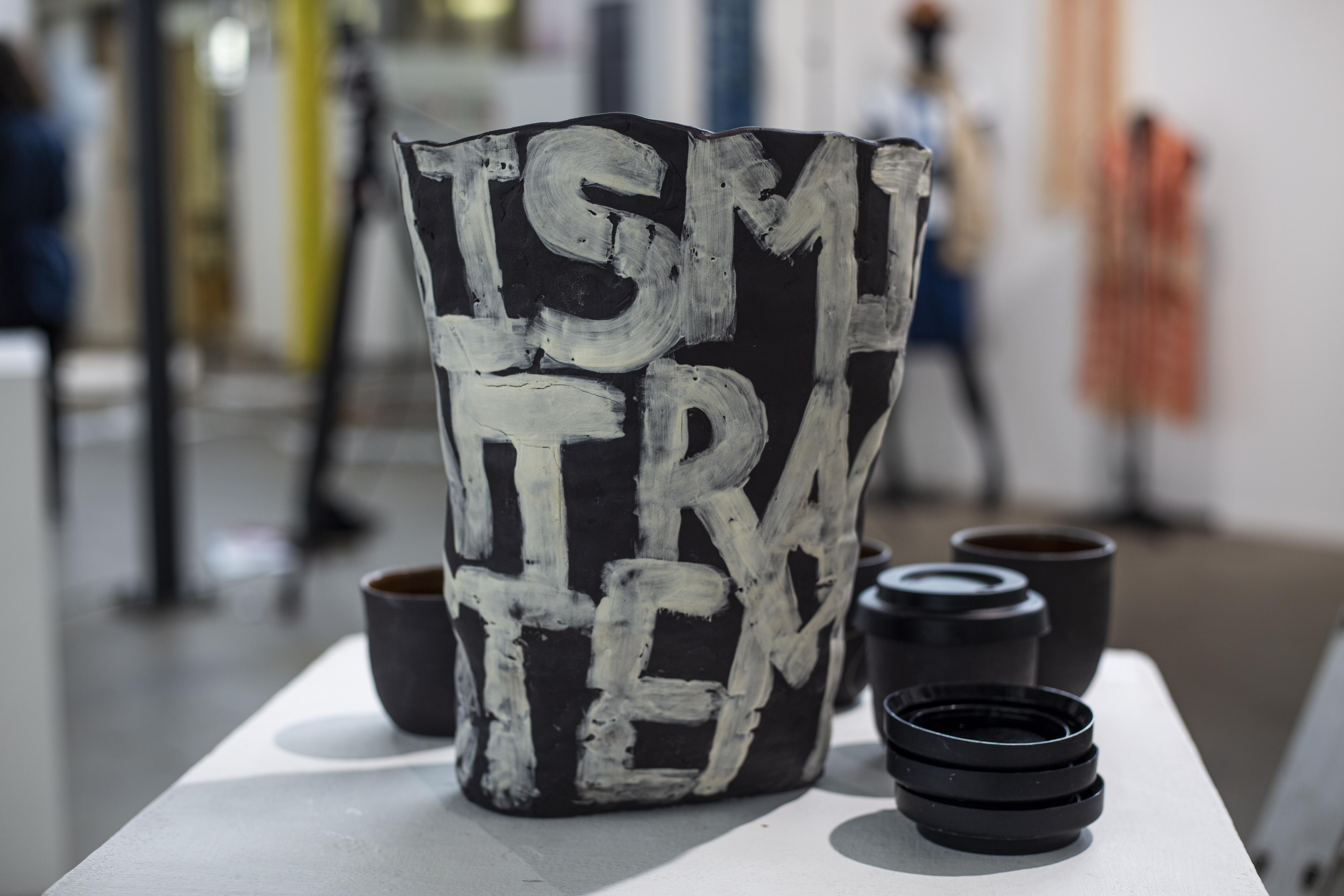 Capitalism (vase) by Kara Wood