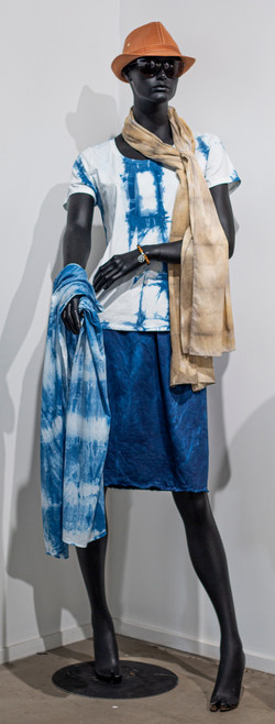 Cotton Voile Scarf x 2 by Mary Graham