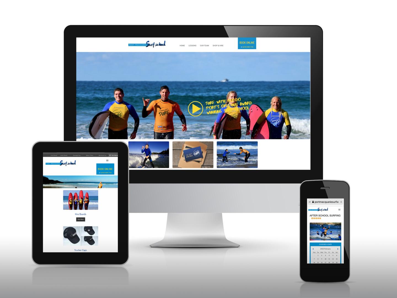 Port Macqaurie Surf School