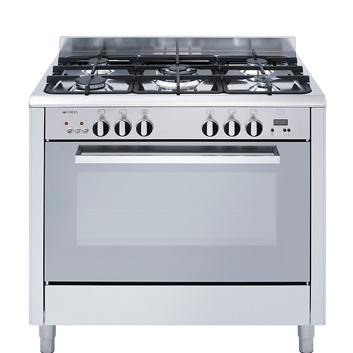 90cm Cooker with Electric Oven