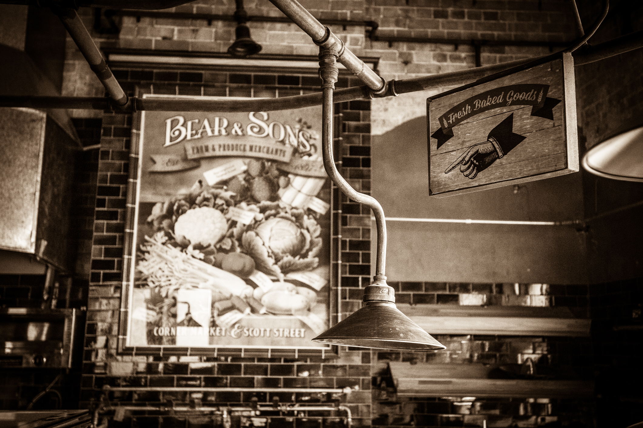 Bear & Sons poster