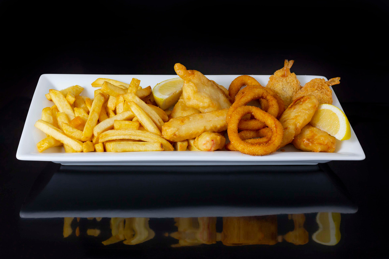 Fish, Chips and Seafood