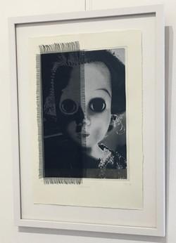 Shadow print textile