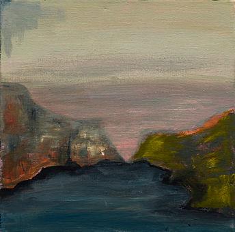 Misty Bay Study by Caroline Traill