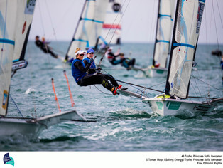 British Success at Princess Sofia Regatta and Hyeres World Cup Event
