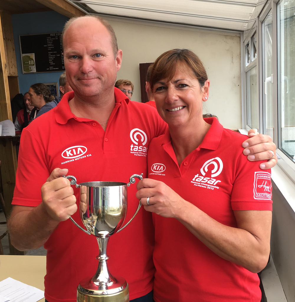Photo Sarah Desjonqueres - our new Champions Jeremy and Suzanne Hawkins