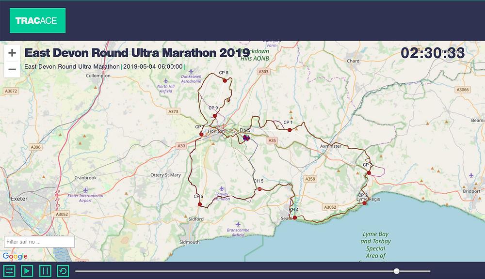 TracAce East Devon Round Ultra Marathon