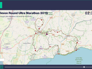 TracAce™ Makes its Debut at the East Devon Round Ultra Marathon