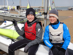 RS Tera Sailors Excel at National Schools Championships