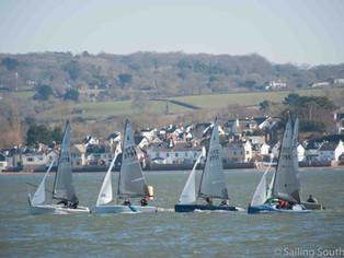 Race Report – Sailing Southwest Winter Series 2017-18