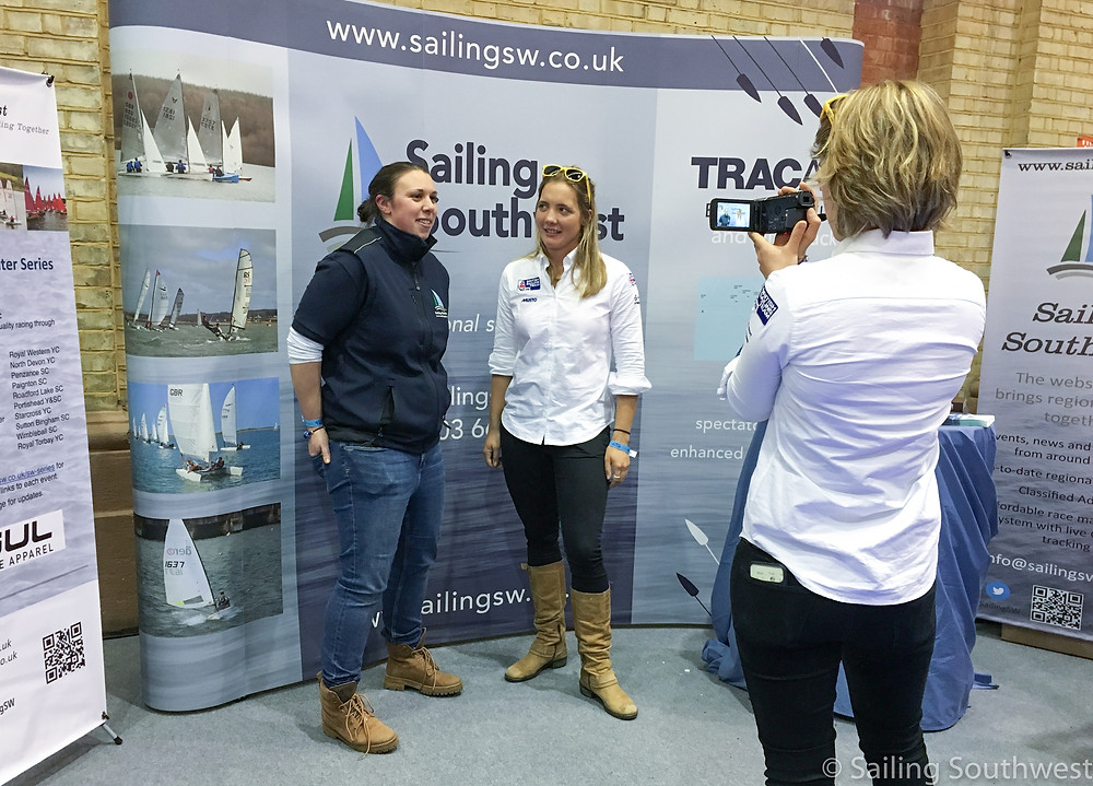 British Sailor Sophie Ainsworth and SSW's Lottie Miles report on the day