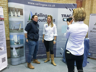 Olympians, Chocolate Cake & Snow - Sailing Southwest's First Birthday at the RYA Dinghy Show