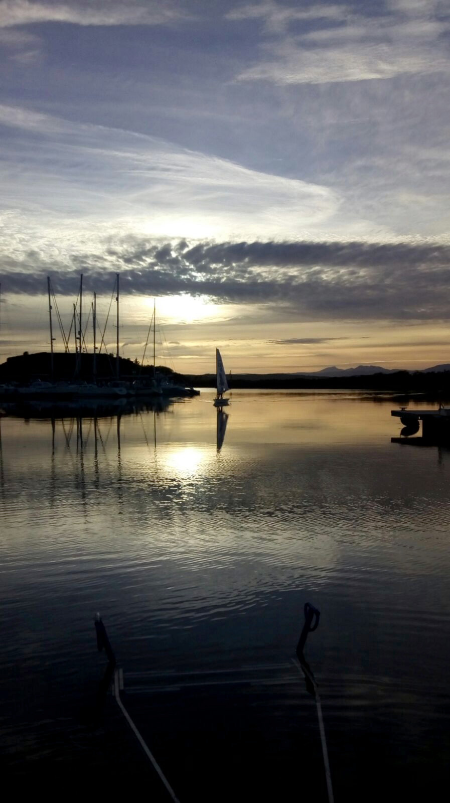 arriving late to Craobh