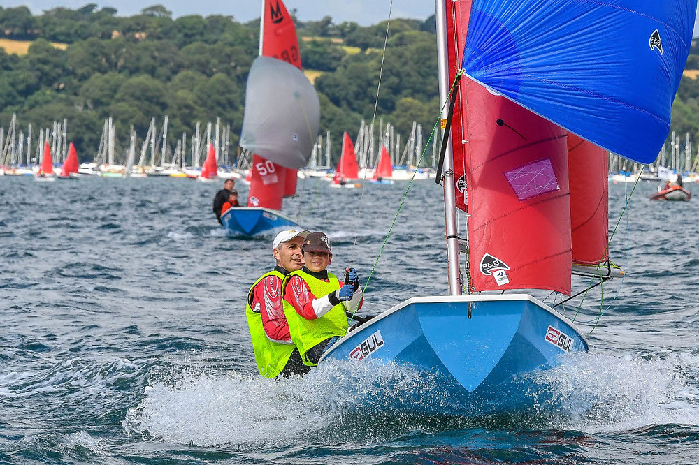 Cullen & Rowan Hughes from Balmoral SC in Sydney (World Champions). Photo by Lee Whitehead of Photolounge.co.uk
