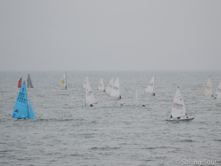 Hampe comes from the back of the fleet to win the 2018 Penzance Pirate