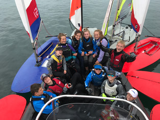SWYSA Sailors take top 8 places at Torbay regatta