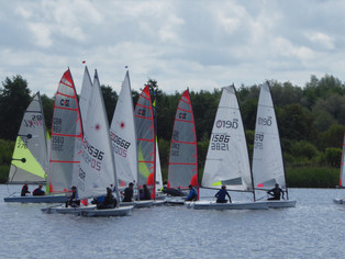 Bowmoor SC Youth Camp, Optimist Open meeting and YOO Regatta