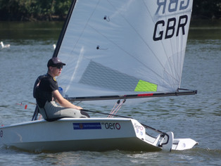 Coast Water Sports RS Aero Event at Sutton Bingham Sailing Club