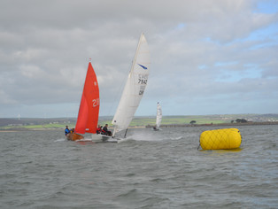 Round 2 of the SSW winter Series - Gul Wrecker at NDYC 29th October