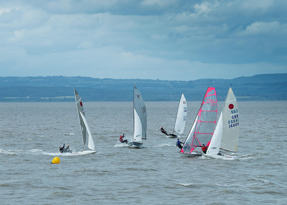 Severn Bridge Pursuit Race by Andy Dubreuil