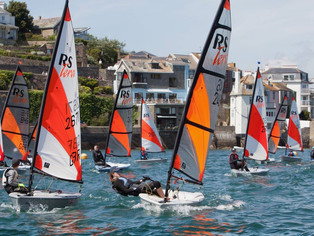 Junior Regatta at Salcombe Yacht Club