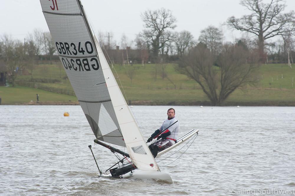 Chris Hampe, International Canoe