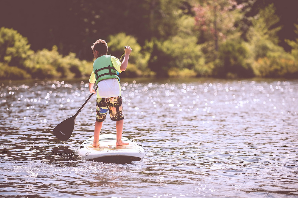 The only option was to Paddle Board!