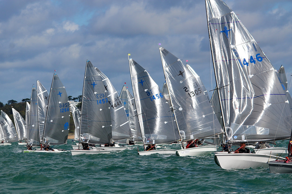Phantoms lit up in the sunshine on the start of race 2 Saturday