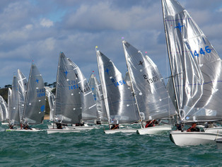 Blustery conditions challenge double National Championships