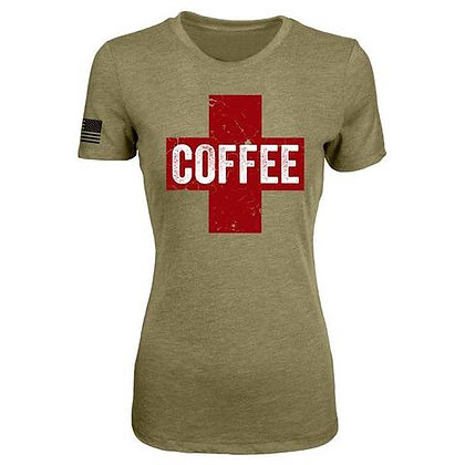 COFFEE SAVES WOMEN'S T-SHIRT