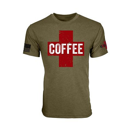 COFFEE SAVES T-SHIRT