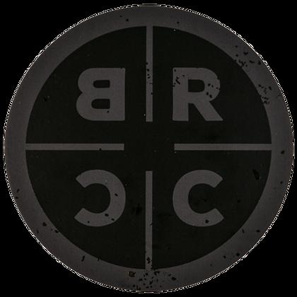 BRCC CIRCLE LOGO STICKER
