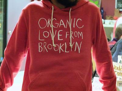 Organic Love Unisex Hoodie-Red