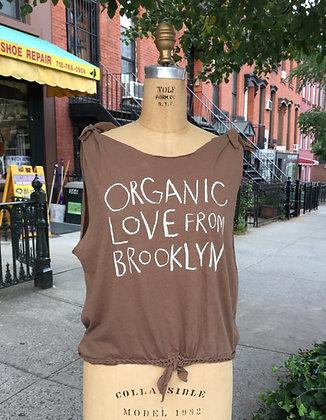 Organic Love Women Cut-Brown