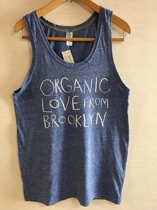 Organic Love Tank -Eco Blue