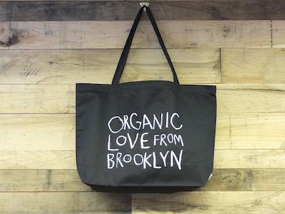 Organic Love from Brooklyn Tote-Black