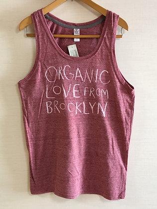 Organic Love Tank - Eco Red
