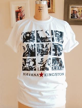 Havana to Kingston T-shirt-Unisex White