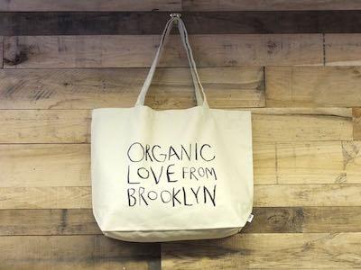 Organic Love from Brooklyn Tote