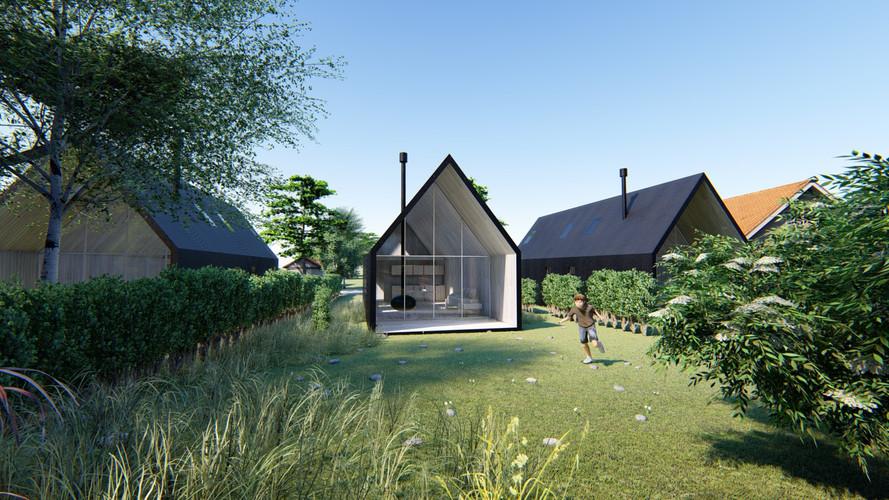 Cauhaus market - vivienda modular - Modelo mesopotamico - Mercado de casas
