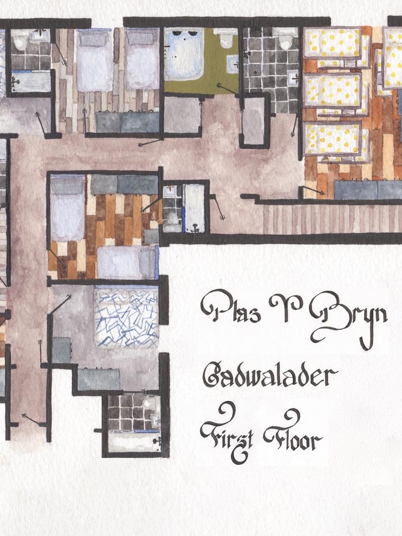 Plas Y Bryn - First Floor