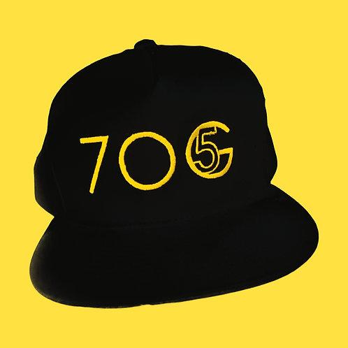 7OG Embossed Logo Snapback