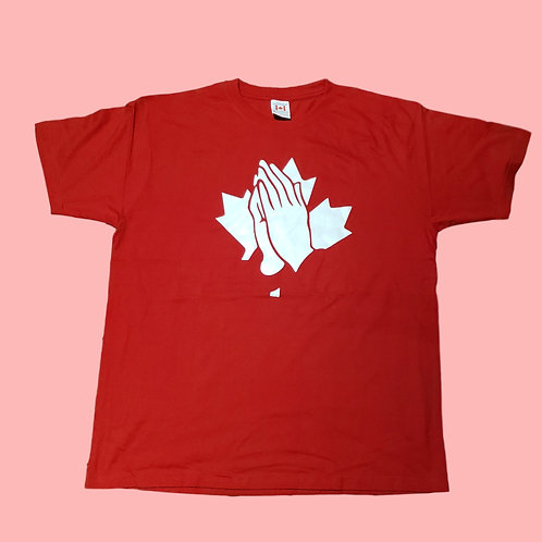 God Bless the North Praying Hands T-Shirt